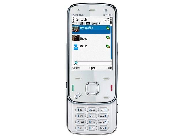 obsah balení NOKIA N86 White 8GB + Krusell pouzdro Dynamic
