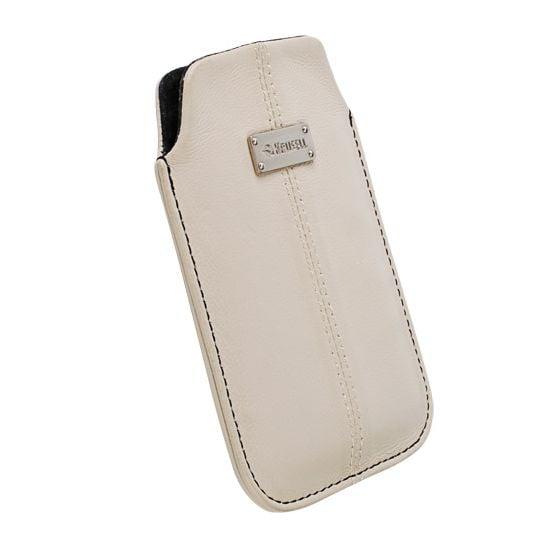 Krusell pouzdro Luna L - Xperia Sola/U,iPhone 4/4S,HTC One V,Lumia 800/710  116x62x12mm (písková)
