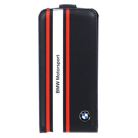 BMW Motorsport Edition Flip pouzdro iPhone 5, modrá