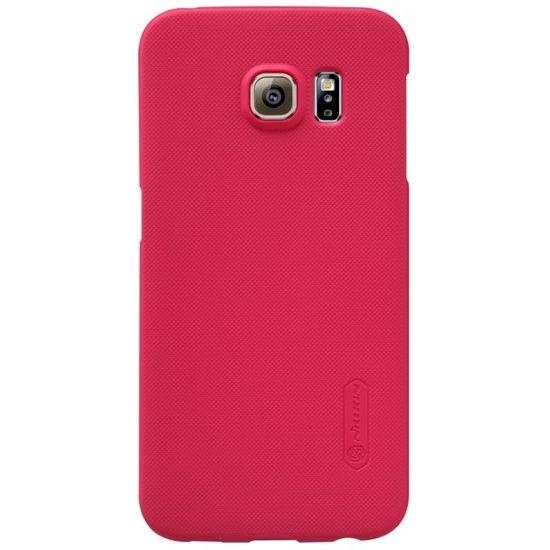 Nillkin Super Frosted Zadní Kryt pro Samsung G925 Galaxy S6 Edge, červený