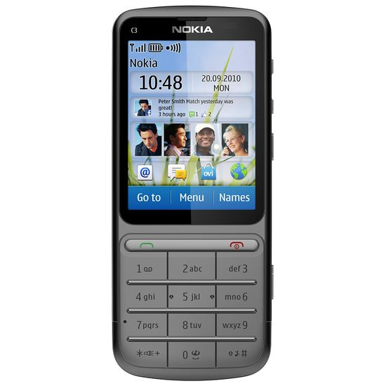 Nokia C3-01.5 (Touch and Type) Warm Grey