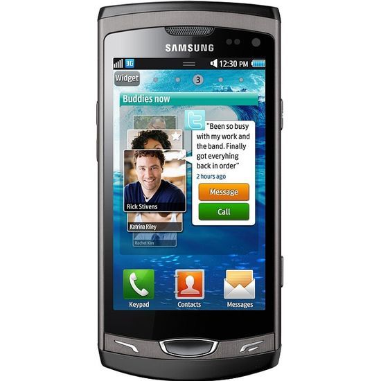 Samsung Wave II S8530 Ebony Grey