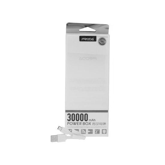 Remax Proda powerbanka 30000 mAh, bílá