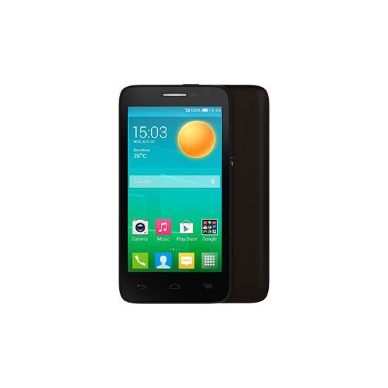 ALCATEL ONETOUCH 5038D POP D5, hnědá