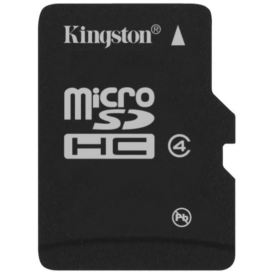 Kingston microSD 2GB Class 2 paměťová karta + dvojitý adaptér