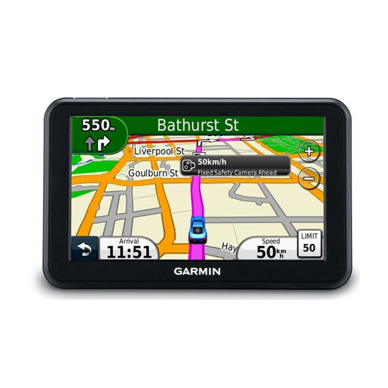 Garmin nüvi 50 Eastern Europe Lifetime