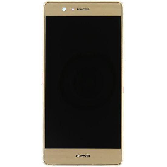 Náhradní díl LCD displej + Dotyková Deska + Přední Kryt na Huawei Ascend P9 Lite, zlatá