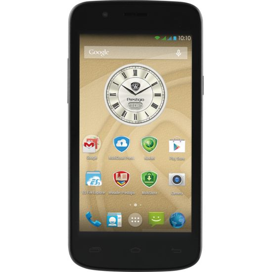 PRESTIGIO MultiPhone 5504 Duo, černá