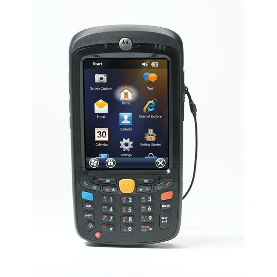 Motorola MC55A - PAN 1D LZR NUM BT W6.5 N um Keyb Ext Bat  BT WM6.5 Cla MC55A0-P20SWRQA9WR