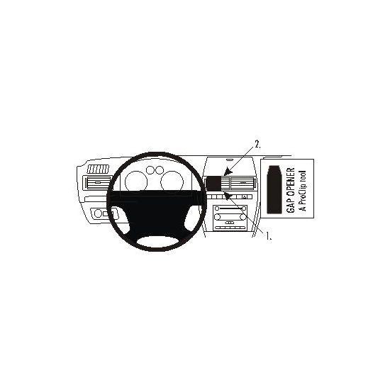 Brodit ProClip montážní konzole pro Ford Fusion 06-09, na střed