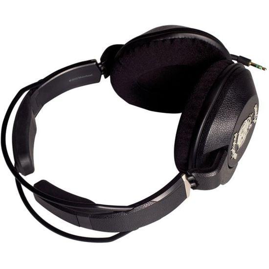 Náhlavní sluchátka Motörheadphönes Iron Fist (černá) + Metropolis UnderCover Apple iPhone 5 (černá/červená)