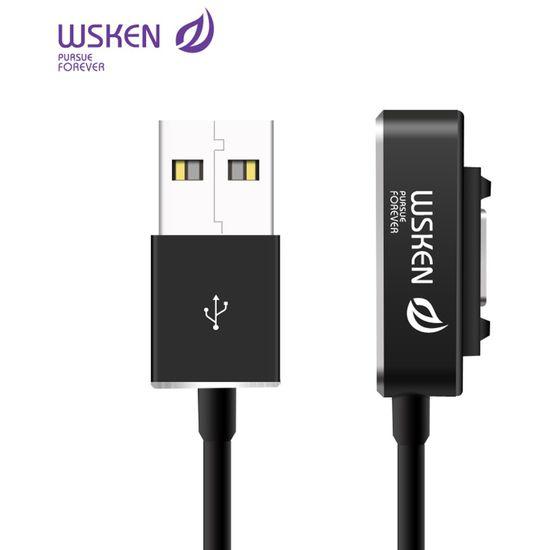 WSKEN Magnetický nabíjecí kabel pro Sony 1m, černý