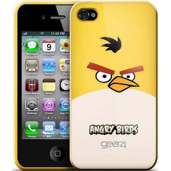 Gear4 pouzdro pro iPhone 4 Angry Birds Yellow