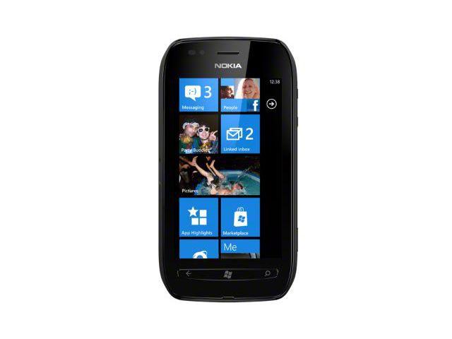 obsah balení Nokia Lumia 710 Black/Black + záložní zdroj Nokia DC-16 ZDARMA