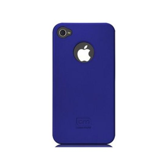 Case Mate pouzdro Barely There - Blue (Rubber) pro iPhone 4