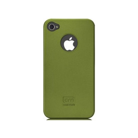 Case Mate pouzdro Barely There - Green (Rubber) pro iPhone 4