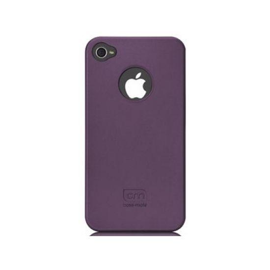 Case Mate pouzdro Barely There - Purple (Rubber) pro iPhone 4