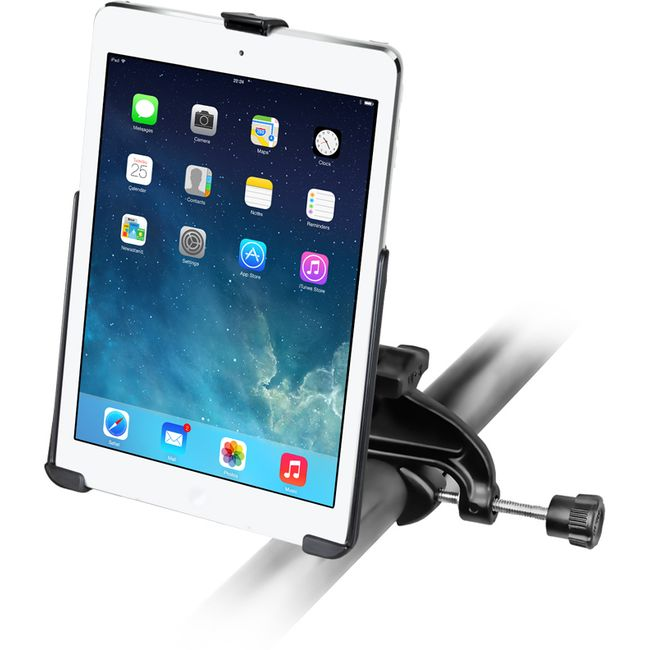 RAM Mounts držák na iPad Air s úchytem do letadla na berany, Ø15,9-32 mm, vysokopevnostní plast, sestava RAP-B-121-AP17U