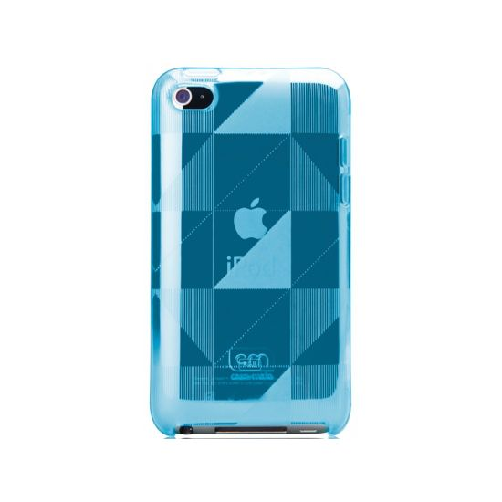 Case Mate pouzdro Gelli Case - Checkmate Blue pro  iPod Touch 4th Gen.