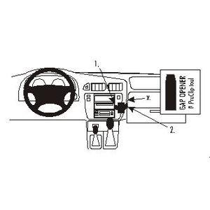Brodit ProClip montážní konzole pro Nissan Patrol 98-10, na střed