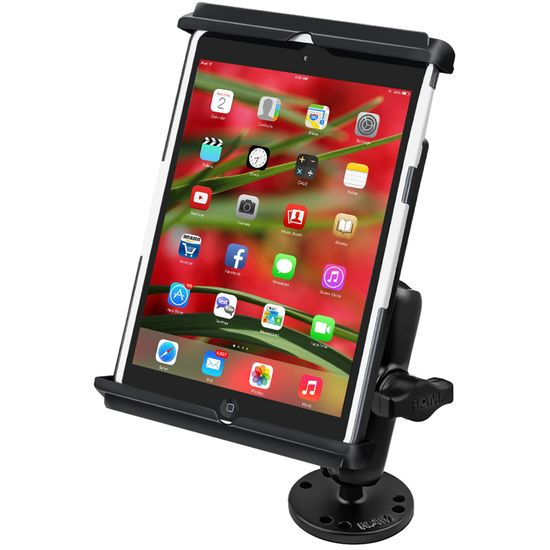 RAM Mounts univerzální držák na iPad mini do auta na palubní desku, skútr atd. na šroubky nebo vruty, AMPS, sestava RAM-B-138-TAB12U