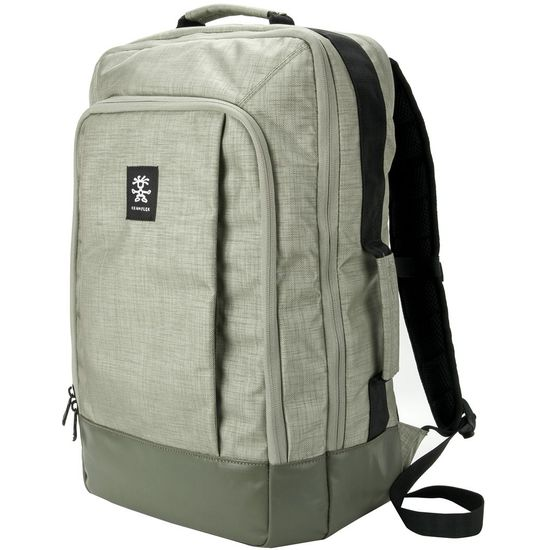 "Crumpler Private Surprise Backpack XL nylonový batoh 17.3"" - šedá"