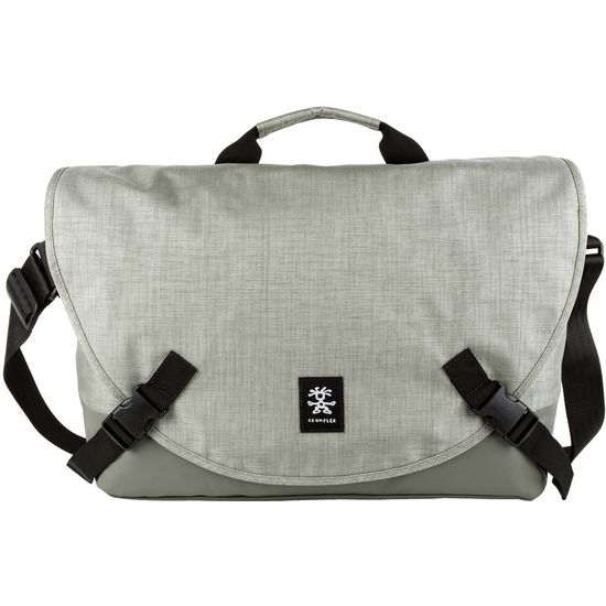 "Crumpler Private Surprise L nylonová taška 15.4"" - šedá"
