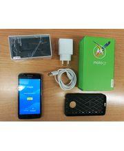 Motorola Moto G5 16GB (dvojnásobek!!), bazar, černý + pouzdro + sklo + firness náramek G02, záruka