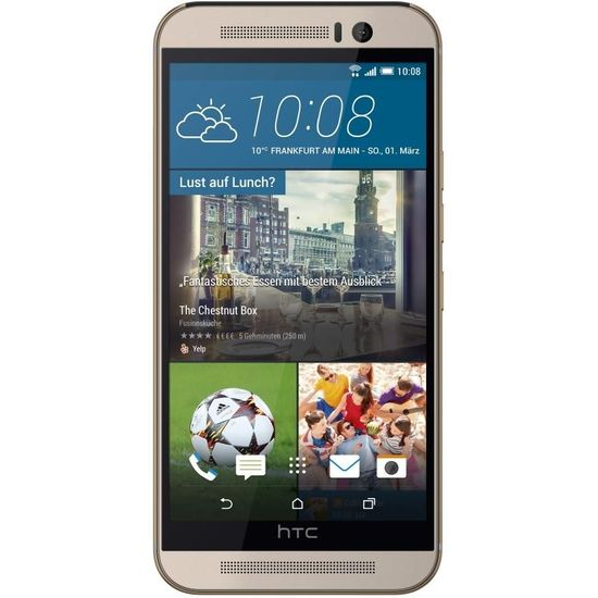 HTC One (M9) Silver/ Rose gold