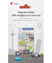 Sygic GPS Navigation - Evropa, offline, doživotní aktualizace map, Headup Display, Dashcam
