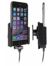 Brodit držák do auta na Apple iPhone 7/6s/6  bez pouzdra, se skrytým nabíjením, samet