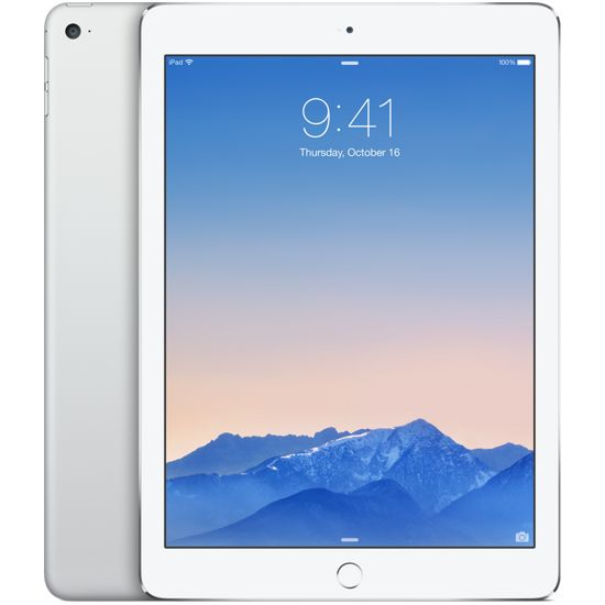 Apple iPad Air 2, 16GB Wi-Fi Cellular, stříbrný
