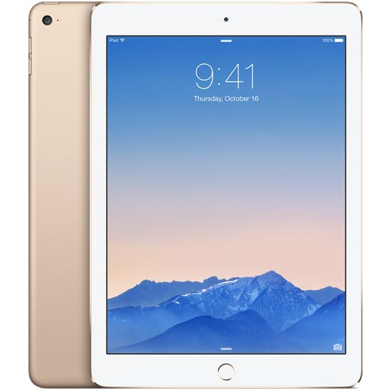 Apple iPad Air 2, 16GB Wi-Fi Cellular, zlatý