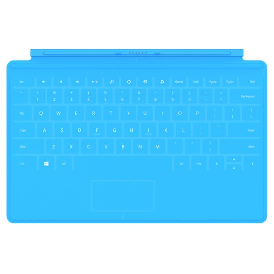 Microsoft Surface Touch Cover modrý