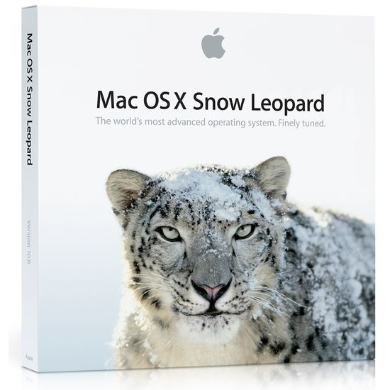 Snow Leopard Mac OS X 10.6
