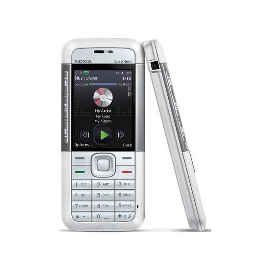 NOKIA 5310 XPressMusic White Silver 2GB