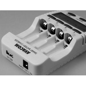 JVL-505 Inteligentní nabíječka baterií (AA, AAA), pro 4ks baterií