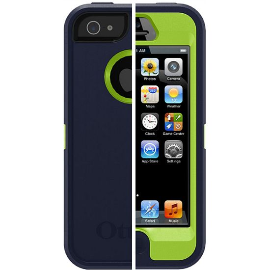 Otterbox - Apple iPhone 5 Defender - zelená/modrá