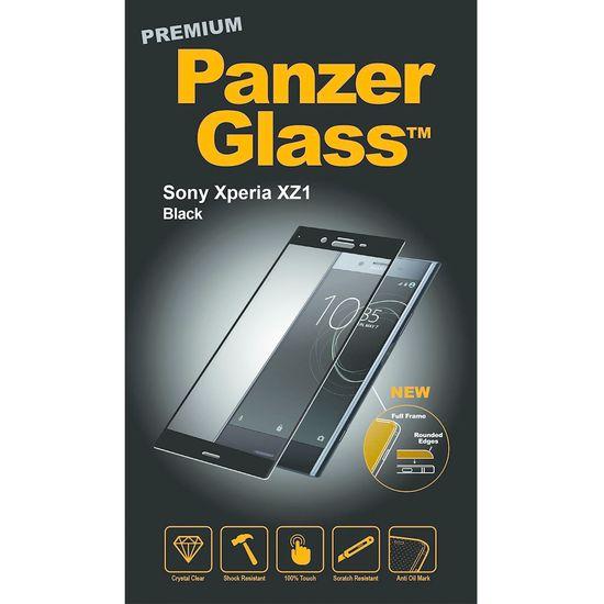 PanzerGlass ochranné tvrzené sklo PREMIUM pro Sony Xperia XZ1, černý rámeček