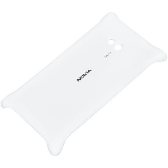 Nokia kryt pro bezdrátové nabíjení CC-3064 pro Lumia 720, bílá