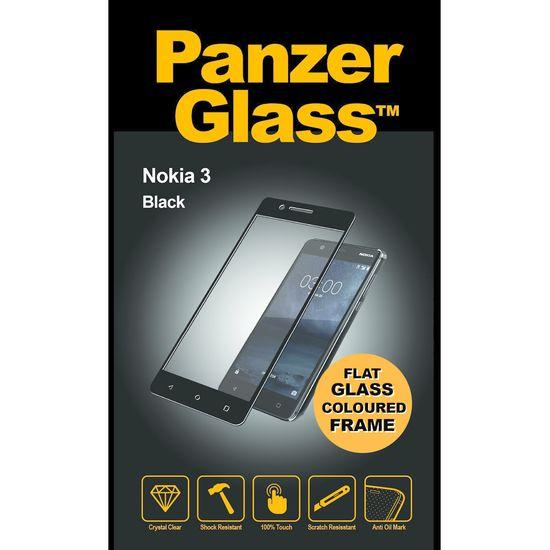 PanzerGlass ochranné tvrzené sklo pro Nokia 3, černé