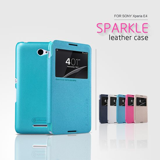 Nillkin flipové pouzdro Sparkle S-View pro Sony Xperia E4G, černá
