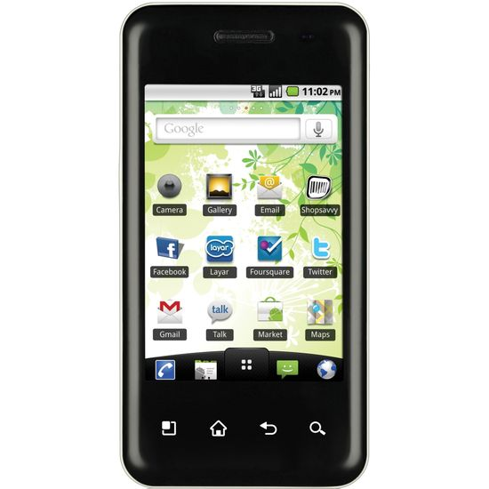 LG E720 Optimus Chic Black