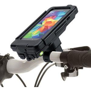 Držák BikeConsole na Samsung Galaxy S5 Power plus 2800mAh na kolo nebo motorku na řídítka
