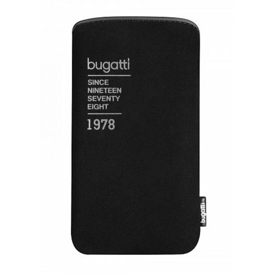Bugatti Slim Case Universal XL (141 x 81mm) - černé