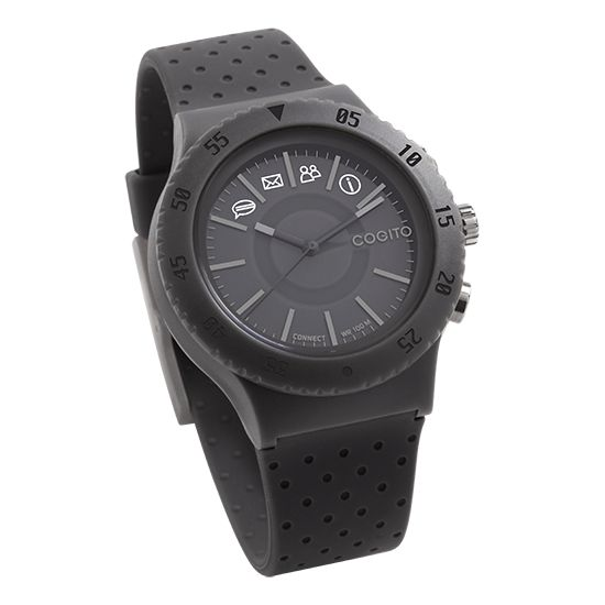 COGITOwatch 3.0 Pop Grey Paloma bluetooth hodinky, šedé