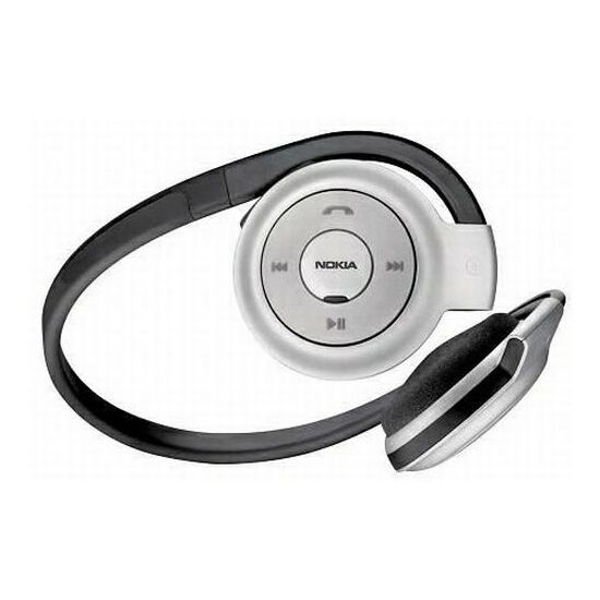 Bluetooth Stereo Headset Nokia BH-503 Black Silver
