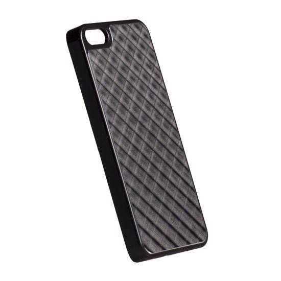 Krusell hard case - AluCover - Apple iPhone 5 (černá mřížka)