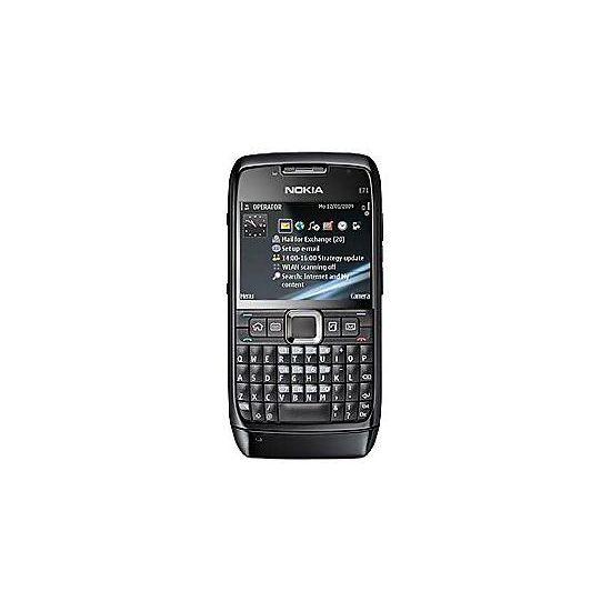 Nokia E71 Black Steel