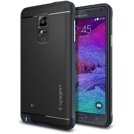 Spigen pouzdro Neo Hybrid pro Samsung Galaxy Note 4, kovově modrá